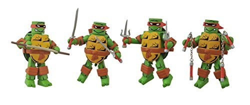 Diamond Select Toys Teenage Mutant Ninja Turtles: First Appearance Minimates Box Set Action Figure by Diamond Select