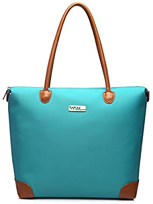 NNEE® Water Resistance Nylon Tote Bag & Multiple Pocket Design