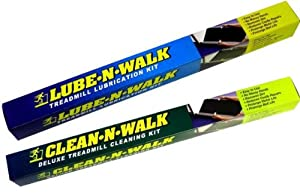 ALL TREADMILL Cleaning and Lube N' Walk COMBO 2 Kits ! by Lube N' Walk