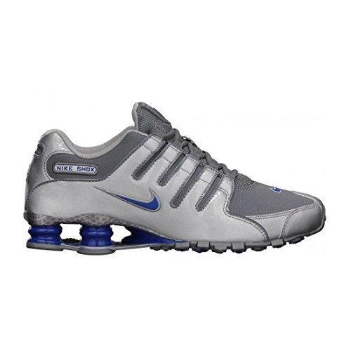 Nike Shox NZ EU Schuhe metallic silver-gym royal - 41