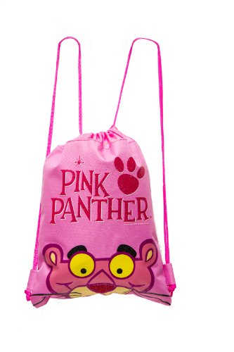Pink Panther Drawstring Backpack - 1