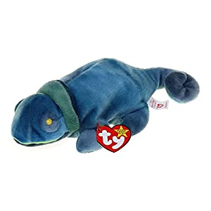 Beanie Baby - Rainbow the Lizzard (October 14, 1997) RETIRED