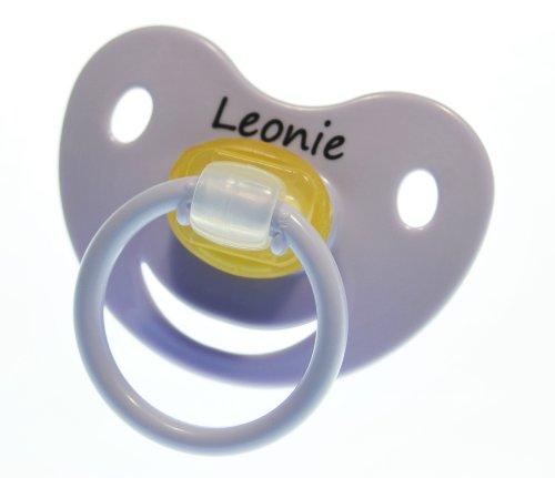3-stk-namensschnuller-leonie-grosse-1-0-6-monate-kieferform-latex-farblich-sortiert-rose-flieder-hel