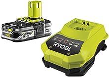 Comprar Ryobi RBC18L15 - Pack cargador 1 h + 1 Batería Lítio-Ion 18V 1,5Ah