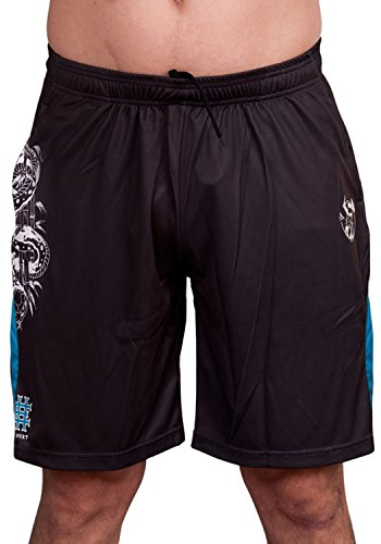 Ed Hardy Cobra Mesh Shorts - Black - Small