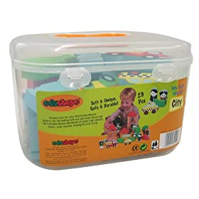 Edushape My Soft World Block Set- City
