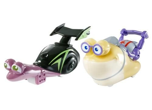 Turbo Dreamworks Vehicle White Shadow Vs Smooth Move