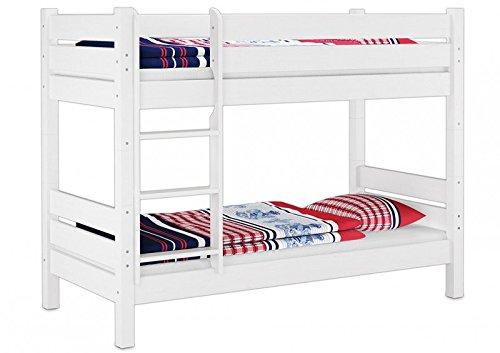 w t100 m etagenbett f r erwachsene wei 100x200 cm nische 100 cm teilbar mit. Black Bedroom Furniture Sets. Home Design Ideas