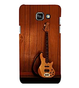 printtech Wooden Guitar Back Case Cover for Samsung Galaxy A5 (2016) :: Samsung Galaxy A5 (2016) Duos with dual-SIM card slots