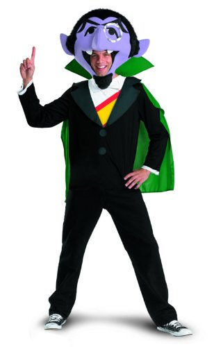 Disguise Men's Sesame Street The Count Costume