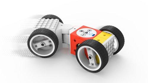 roboter bausatz tinkerbots wheeler set mit hightech spielzeug ferngesteuerte autos und roboter. Black Bedroom Furniture Sets. Home Design Ideas