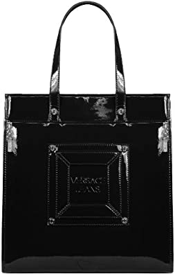 versace jeans damen tote tasche schwarz black 899. Black Bedroom Furniture Sets. Home Design Ideas