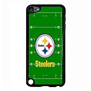 Style281 Terrific Theme Pittsburgh Steelers Pattern Football Team Sign Snap On Case Cover for Ipod Touch 5th Generation Stylish Design from SteelerMania