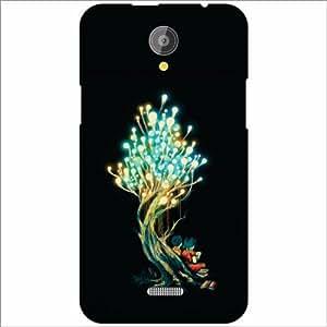 Design Worlds - XOLO Omega 5.5 Designer Back Cover Case - Multicolor Phone ...