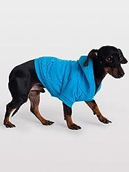 American Apparel Flex Fleece Dog Zip Hoodie - Navy / L
