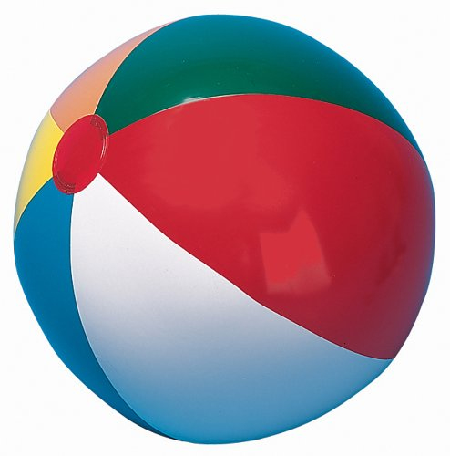 "Champion IB20 Sports Heavy-Duty Beach Ball, 20"" Size, Multi Color"