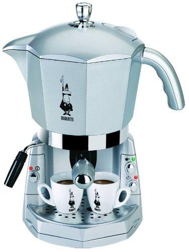 Mokona Espressosiebträgermaschine mit 3-fach Brühsystem