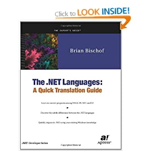 The .NET Languages: A Quick Translation Guide (.Net Developer)