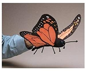 Folkmanis Monarch Butterfly Hand Puppet from Folkmanis
