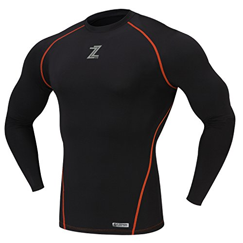 D-ZEFRON F/W Season Compression Under Napping Men's Shirts Base Layer Gear Armour Wear Long Sleeve Shirts DZTN150BR