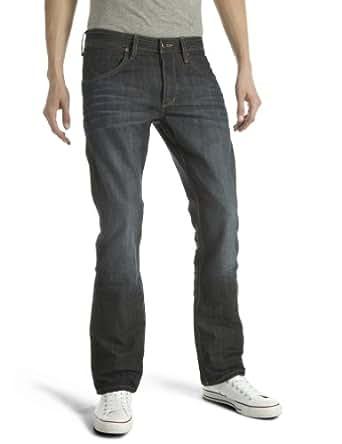 Wrangler - Jeans - Droit - Homme - Bleu - W28/L32 (Taille fabricant: W28/L32)