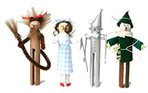 Wizard of Oz clothespin People Ornaments Craft Kits