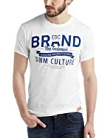 edc by ESPRIT Herren T-Shirt Rundhals - Slim Fit 034CC2K050