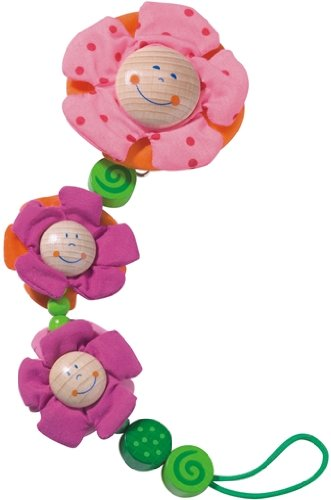 Blossoms Pacifier Chain by Haba