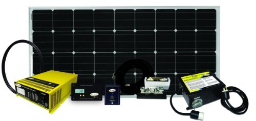 Go Power! Weekender 155 Watt Complete Solar and Inverter System