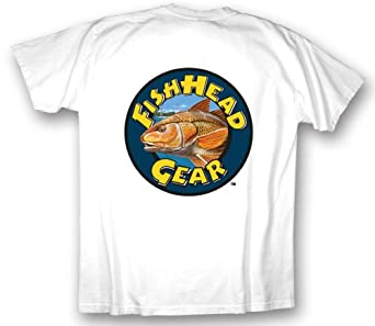 Redfish fishing shirts redfish logo t shirts for Fishing logo t shirts