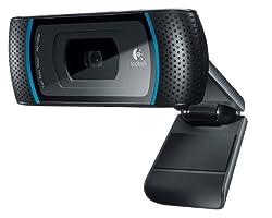 Logitech 960-000597 Webcam (Black)