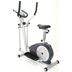 cross trainer and bike