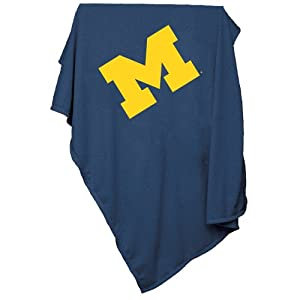 Brand New Michigan Wolverines NCAA Sweatshirt Blanket Throw by Things for You