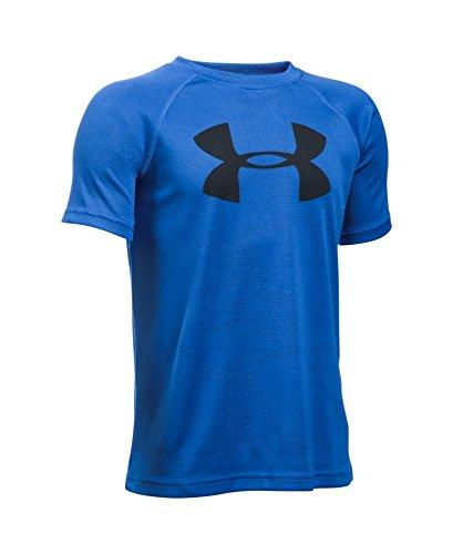 Under Armour Boys' Novelty Big Logo T-Shirt, Ultra Blue (909), Youth X-Large
