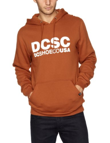 DC Clothing Logo PH Men's Jumper Rust Small