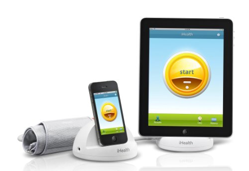 iHealth Blood Pressure Dock/Charger and Monitoring System for iPod Touch, iPhone and iPod