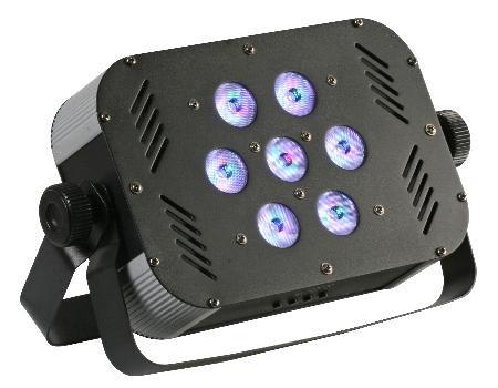 Slim Par56 Led Lamp 30W 7 X 3W Tri Color Leds