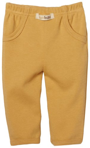 L'Ovedbaby Unisex-Baby Newborn Lounge Pant Without Logo, Caramel, 0/3 Months front-811797