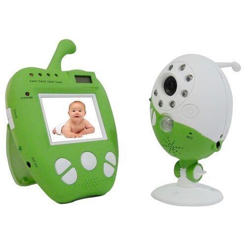 Toworld18 Wireless 2.5Inch Digital Lcd Baby Monitor With Camera Night Vision
