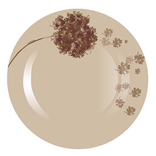Luminarc-9211762-Lot-de-6-Assiettes-Stella-Verre-Chocolat-25-x-25-x-17-cm