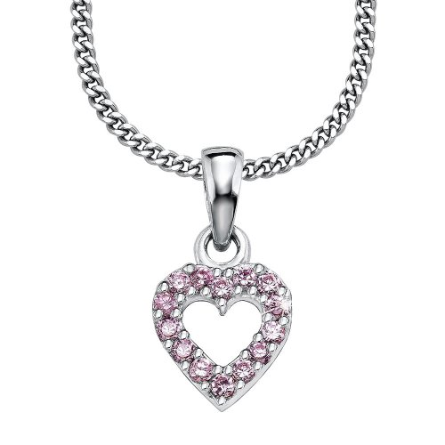 Prinzessin Lillifee 396806 Children's Claw Set  Cubic Zirconia 39.0 centimetres 3.8 grams Sterling Silver 925 Necklace