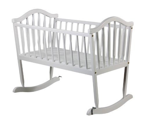 Great Features Of Dream on Me Rocking Cradle, White