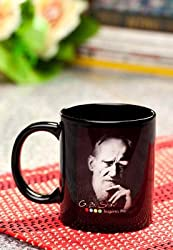 Hot Muggs GB Shaw Quote on Imagination Ceramic Flags Mug