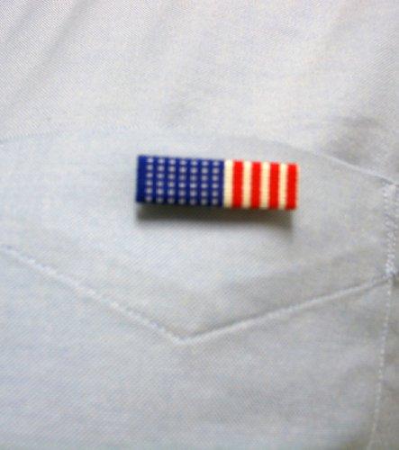 US American Flag Veteran Pin - Made in USA