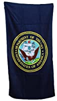 Military - United States Navy Beach Towel - Navy