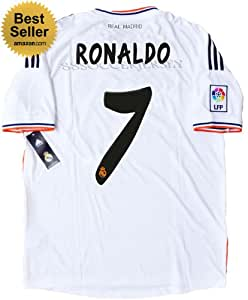 NEW 2013-14 REAL MADRID HOME SOCCER JERSEY RONALDO #7 FOOTBALL SHIRT (US LARGE)