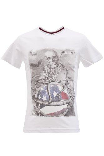 Blend of America -  T-shirt - T-shirt  - Maniche corte  - Uomo bianco XX-Large