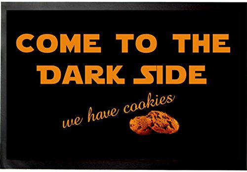 Umore - Come To The Dark Side, We Have Cookies Zerbino (60 x 40cm)