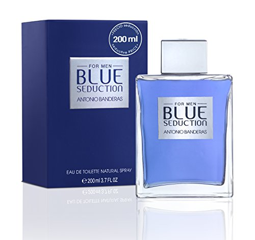 VARIOS EXPORT - ANTONIO BANDERAS BLUE SEDUCTION MAN edt vapo 200 ml-hombre