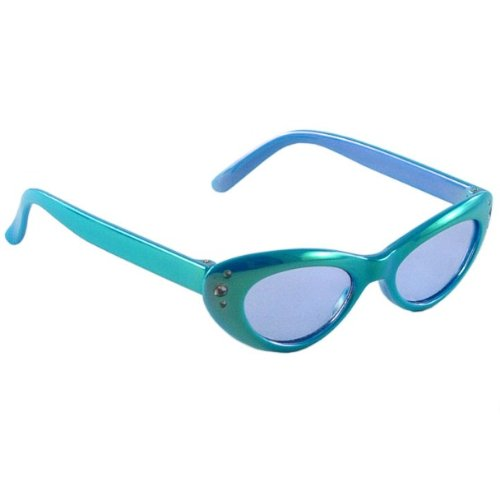 Luvable Friends Girls Baby Sunglasses, Teal